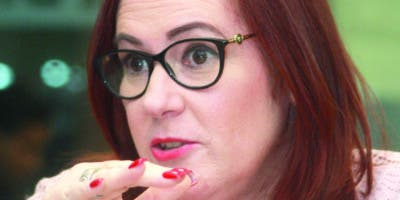Janet Camilo, ministra de la Mujer.  archivo