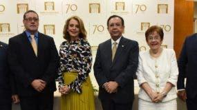José Alcántara Almánzar, Fidel Munnigh, Clarissa de la Rocha, Héctor Valdez Albizu, Jeannette Miller y Ervin Novas Bello.