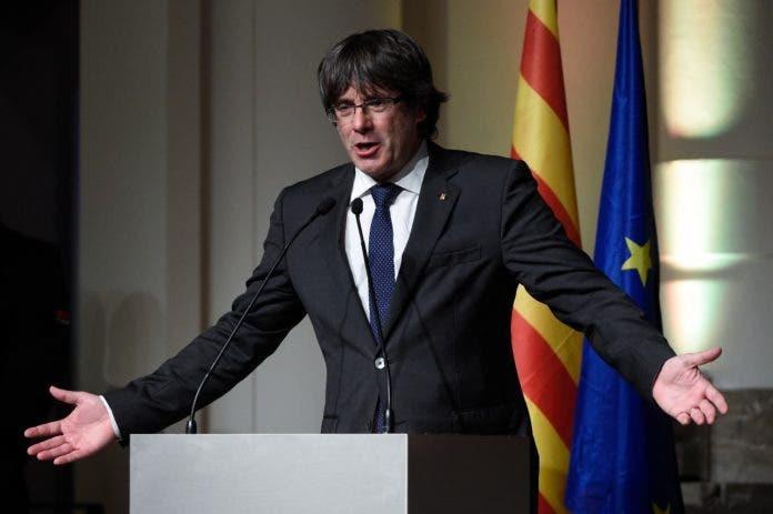 El presidente catalán destituido, Carles Puigdemont.
