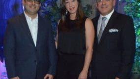 Brahim Selman, Lakshmi García y Jorge Selman.