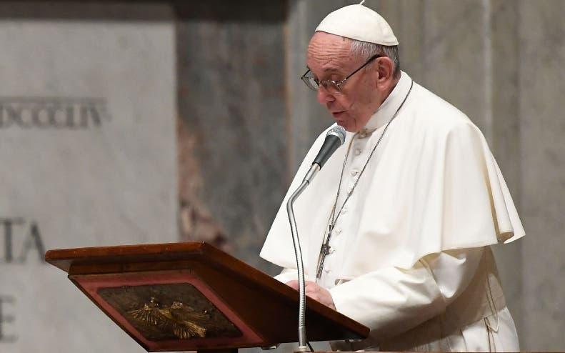 VATICAN-POPE-SUDAN-DRC-PRAYER