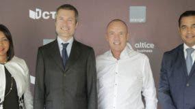 Eury Vasquez, Martín Roos, Mitch Lowe y Rafael Pichardo.