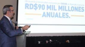 Luis Abinader propone descentralizar varios organismos técnicos que son del Poder Judicial.