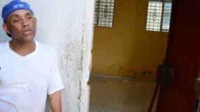 Ramón de los Santos, dueño de la casa  donde ocurrió  el hecho.
