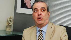Luis Abinader, dirigente del PRM.