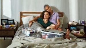 La enfermedad también provocó problemas en la pareja.