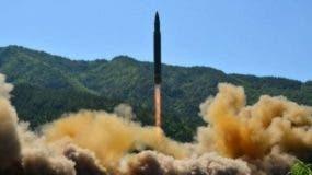 Corea del Norte probó en julio el que se consideró fue su primer misil balístico intercontinental.