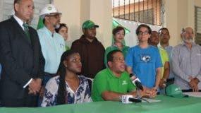 Integrantes de la Marcha Verde.
