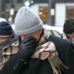 La temperatura mínima será de unos 20 grados Fahrenheit y la máxima de 35 grados.