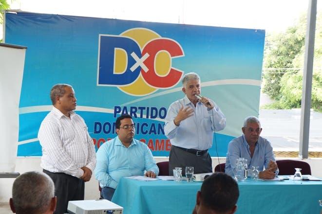 Dominicanos por el Cambio demanda de la JCE profundizar investigaciones sobre escáneres