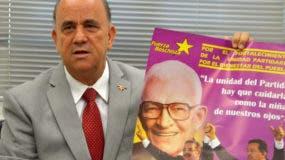 Luis De León, coordinador general de la organización Fuerza Boschista. Foto/ Napoleón Marte