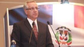 Robert Copley, encargado de negocios de la embajada de Estados Unidos en Santo Domingo.