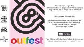 El Santo Domingo OutFest 2017 es el encuentro internacional de cine GLBT que celebra las diversidades sexuales promoviendo la importancia de la cultura de paz y el apoyo que más de 22 mil personas le han dado a sus pasadas siete ediciones.
