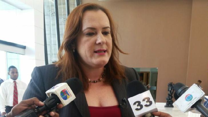 Janet Camilo, ministra de la Mujer.