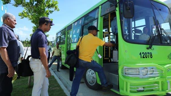 OMSA con nueva ruta en hora pico en Kilómetro 9 Duarte-Los Alcarrizos