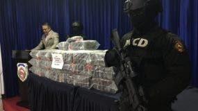 La droga confiscada durante un allanamiento en una finca de Hato Mayor.