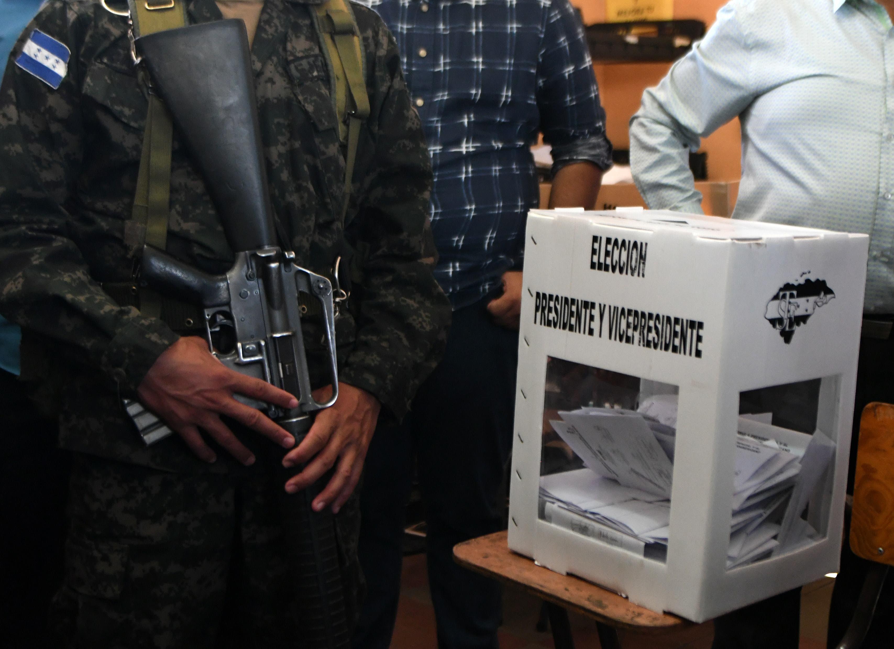 La Unión Europea detecta falta de material en algunas mesas electorales de Honduras