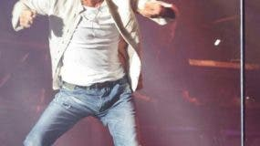 """l cantante puertorriqueño Marc Anthony se presenta durante el Festival """"Presidente"""" en el Estadio Olímpico en Santo Domingo, República Dominicana,AFP"""