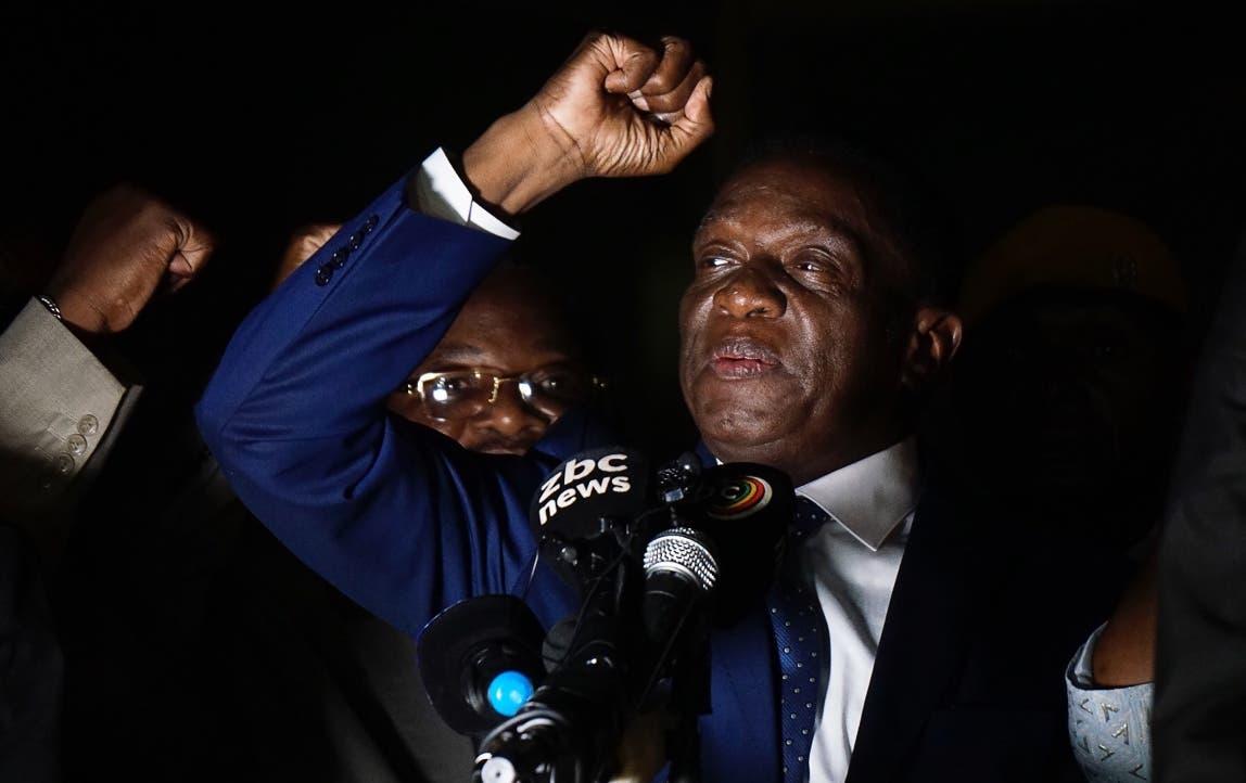 Emmerson Mnangagwa. AFP