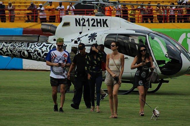 IDAC considera una «falta grave» aterrizaje del helicóptero de Karim al Estadio Cibao