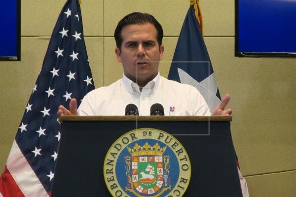 El gobernador de Puerto Rico, Ricardo Rosselló.