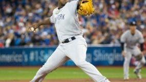 Luis Severino tuvo  gran campaña con los Yankees, quedando tercero en la lucha por el  Cy Young en este año.