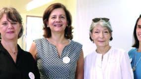 Marie Bordenave, Nelia Barletta, Elisabeth de Puig y Xiomara Encarnación