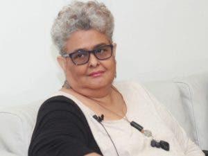 Gina Gallardo, encargada de la Escuela de Migración del  INM RD.