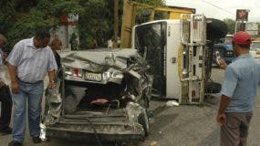 Colisión entre vehículos de motor es la principal causa  según los  indicadores.