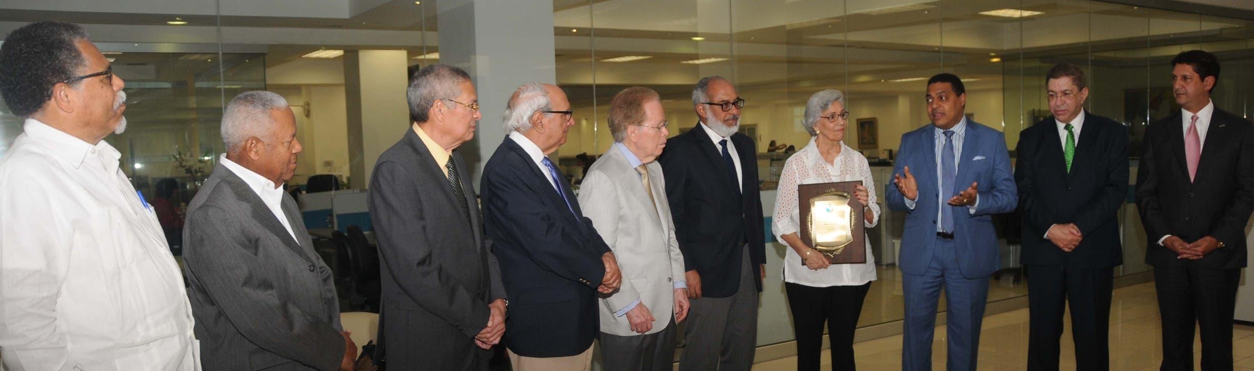 Sociedad Dominicana de Diarios rinde tributo a Molina Morillo