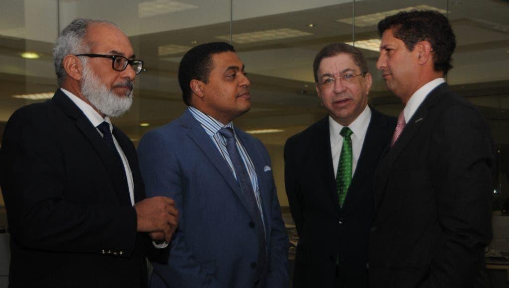 Persio Maldonado, José P. Monegro, Adriano Miguel Tejada y Manuel Estrella.