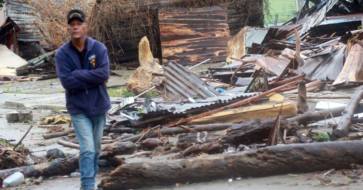 Damnificados  siguen  a la espera que  se les construyan  viviendas dignas por parte del Gobierno.