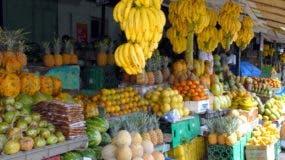 Frutas en uno de los mercados de la capital.