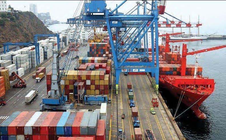 Exportaciones dominicanas.