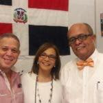 Dagoberto Güílamo, Daysi Acosta y José Silié Ruiz.