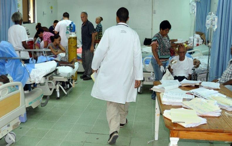 De 7,815 pacientes  atendidos  un  75 % fue por lesiones.