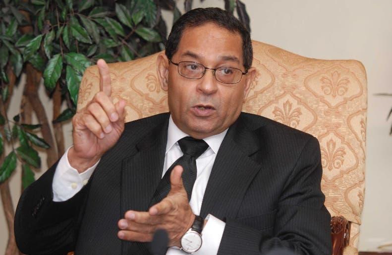 El presidente del CPJ Mariano Germán Mejía.archivo