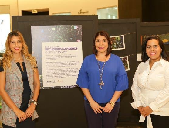 Ailyn García, Keren Cirineo y Mariel Araújo.