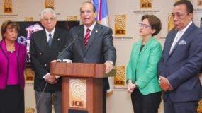 El pleno de la JCE aprobó  esta tarde iniciar una investigación sobre el escándalo de las mochilas.