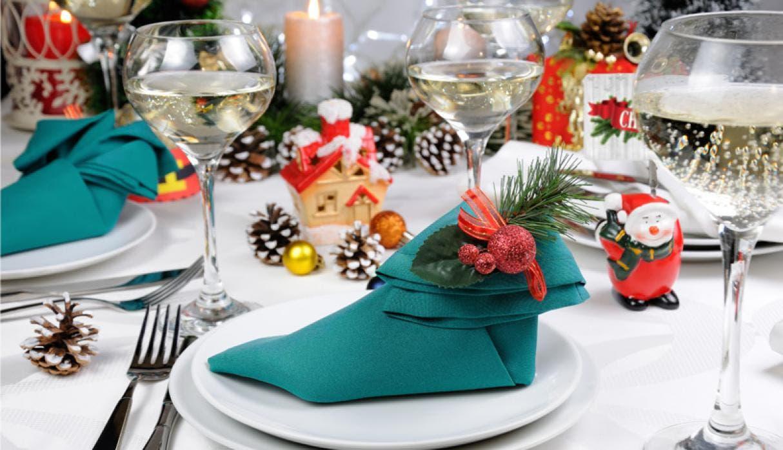 Hermosas ideas para decorar tu mesa de Navidad
