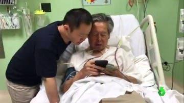 Fujimori mejora y pasa a la sala de cuidados intermedios de clínica de Lima