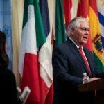 """Hablando ante el Consejo de Seguridad de la ONU, Tillerson afirmó que """"tiene que producirse un cese sustancial del comportamiento amenazador de Corea del Norte antes de que comiencen las conversaciones"""" con Pyongyang."""