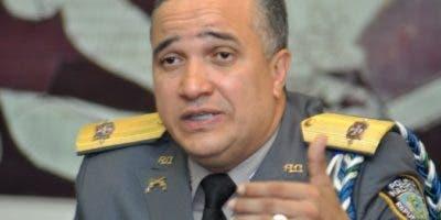 Mayor general Ney Aldrin Bautista Almonte, director de la Policía Nacional.