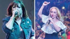 Milly y Miriam Cruz   cantaron todos sus éxitos en presentaciones.