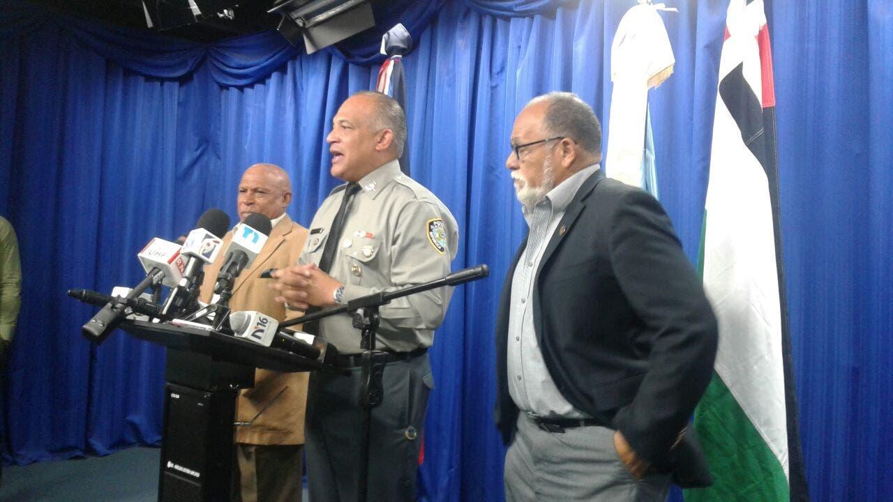 El vocero de la Policía dio la información junto a una comisión del CDP.