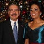 Danilo Medina y Candida Montilla de Medina.