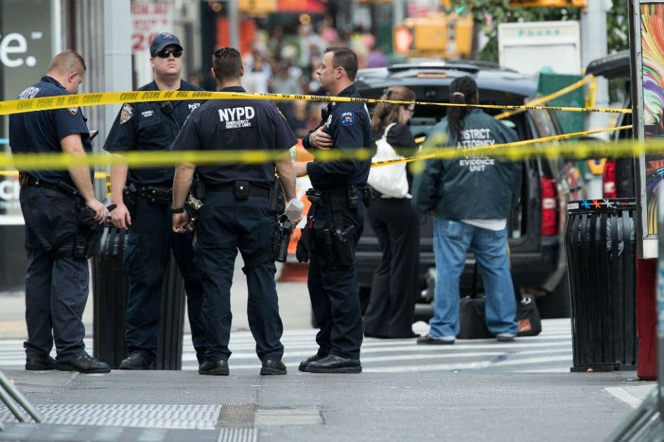 El sospechoso, que fue detenido, es uno de los heridos en la explosión.