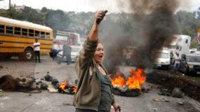 Nuevas jornadas de protestas en Honduras este jueves.