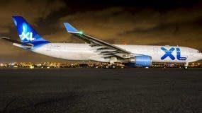 Avión de XL Airways France. Foto: Fuente externa