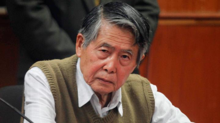 Alberto Fujimori permanece en cuidados intensivos en una clínica de Lima